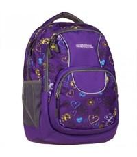 Рюкзак городской Mendoza фиолетовый