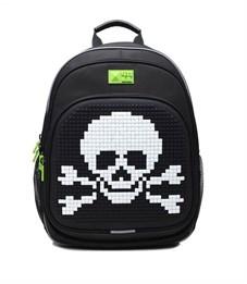 Рюкзак школьный 4ALL KIDS Весёлый Роджер чёрный-чёрный