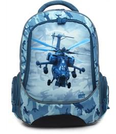 Рюкзак школьный 4ALL School RU18-03 Вертолет
