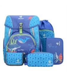 Рюкзак школьный Deuter OneTwo Indigo Sea с наполнением