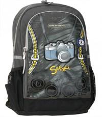 Рюкзак школьный Dr. Kong Фото темно-серый