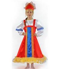 Русский народный костюм девочка, Карнавалия