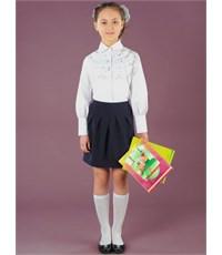 Школьная юбка Инфанта, синий 0309