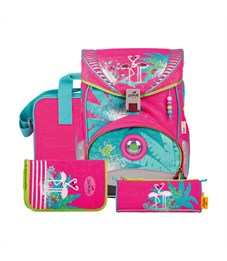 Фото 3. Школьный ранец DerDieDas Ergoflex Фламинго с наполнением