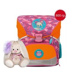 Школьный ранец DerDieDas Розовый пони с наполнением