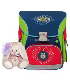 Школьный ранец DerDieDas Влюбленная лягушка с наполнением 404-97