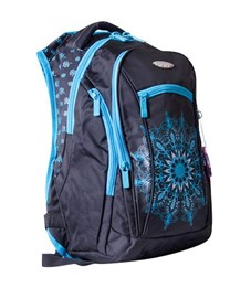 Школьный рюкзак Across G15-5 голубой