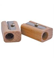 Точилка INDEX прямоугольная деревянная
