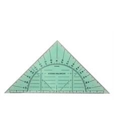 Транспортир в треугольнике Рантис 15 см