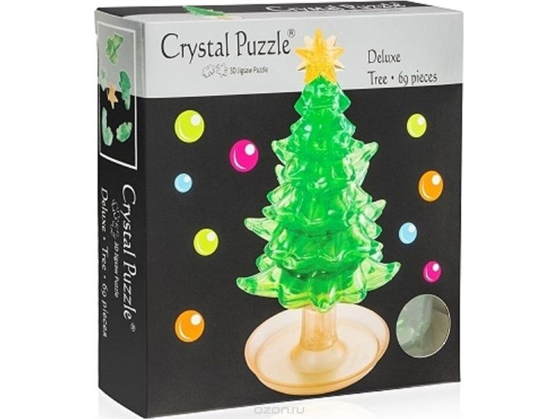 3D головоломка Crystal puzzle Елочка