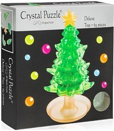 Фото 2. 3D головоломка Crystal puzzle Елочка