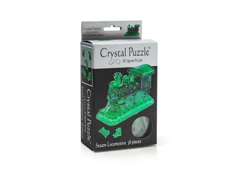 3D головоломка Crystal puzzle Паровозик