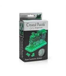 Фото 2. 3D головоломка Crystal puzzle Паровозик