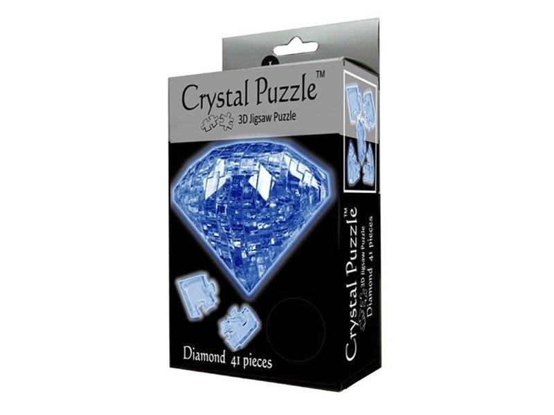 3D головоломка Crystal puzzle Сапфир