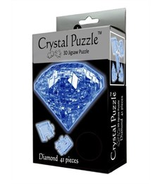 Фото 2. 3D головоломка Crystal puzzle Сапфир