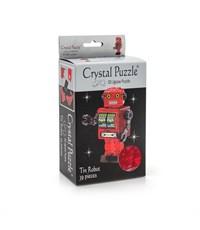 Фото 2. 3D головоломка Crystal puzzle Робот красный