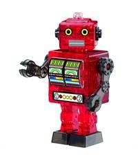 3D головоломка Crystal puzzle Робот красный