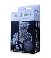 3D пазл Crystal Puzzle Кошка Черная
