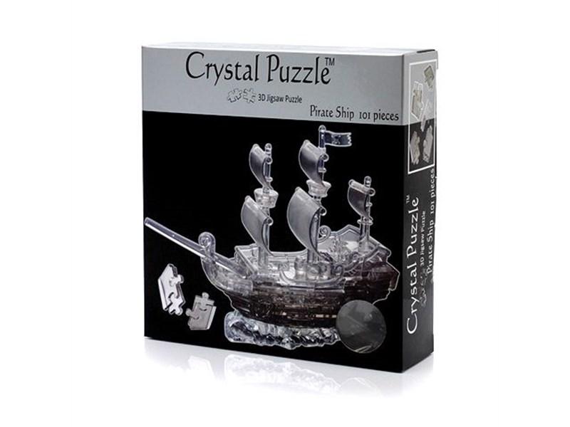 3д головоломка Crystal Puzzle Пиратский корабль