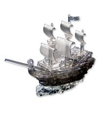 Фото 2. 3д головоломка Crystal Puzzle Пиратский корабль