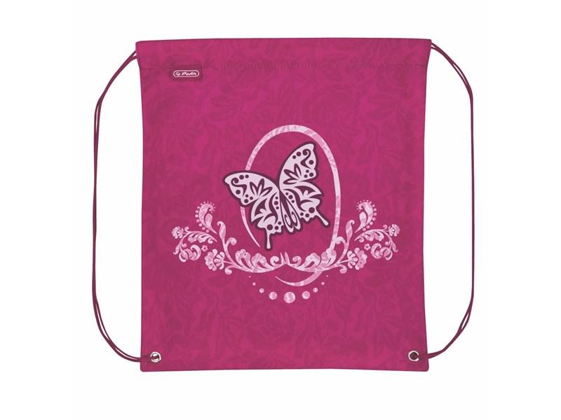 Мешок для обуви Herlitz Rose Butterfly