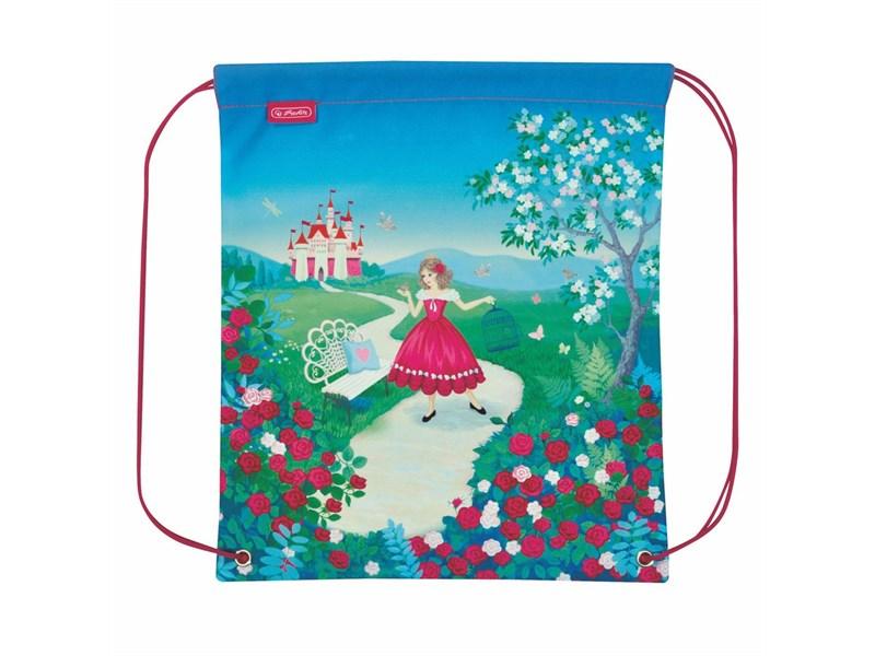 Мешок для обуви Herlitz Princess Rosa