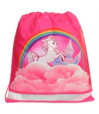 Мешок для обуви Herlitz XL Size Sporty Girls Unicorn