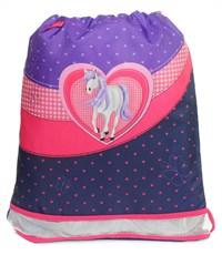 Мешок для обуви Herlitz XL Size SPORTI Girls Glitter