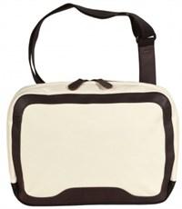 Сумка для отдыха через плечо Quershoulder III Q22 880900-155 белая кожа+текстиль