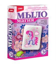 """Набор для мыловарения с картинкой Lori Мыло Магия """"Милая Пони"""""""