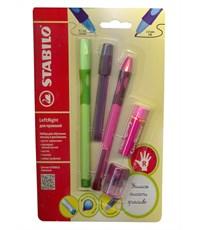 Набор для обучения письму Stabilo LeftRight для правшей, розовый 6328/41-5В