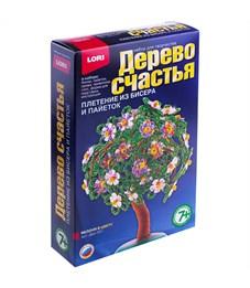 """Набор для плетения из бисера и пайеток - Дерево счастья Lori """"Яблоня в цвету"""""""