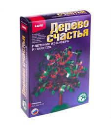 """Набор для плетения из бисера и пайеток - Дерево счастья Lori """"Рябинка"""""""