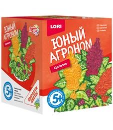 """Набор для выращивания растений Lori """"Юный агроном. Целозия"""", от 5-ти лет"""