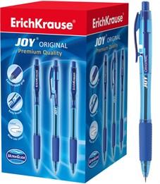 Автоматическая шариковая ручка Erich Krause Ultra Glide Technology JOY Original 0.35 мм, синий