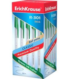 Шариковая ручка Erich Krause R-301 Classic 1.0 мм, зеленый