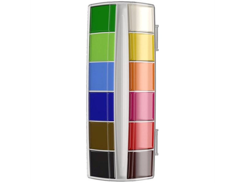 "Акварель ArtBerry ""Premium"", 12 цветов, без кисти, с УФ защитой яркости, картон, европодвес"