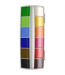 "Фото 2. Акварель ArtBerry ""Premium"", 12 цветов, без кисти, с УФ защитой яркости, картон, европодвес"