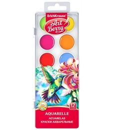Акварель Erich Krause ArtBerry с УФ защитой яркости 12 цветов