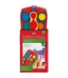 "Акварель Faber-Castell ""Connector"", 12 цветов, пластик/картон"