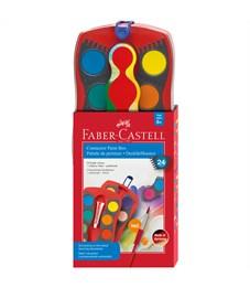 """Акварель Faber-Castell """"Connector"""", 24 цвета, пластик/картон"""