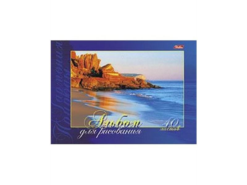 Альбом Hatber Гармония природы 40 л. А4 склейка