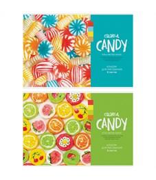 """Альбом для рисования 08л., А4, на скрепке ArtSpace """"Стиль. Colorful candy"""""""
