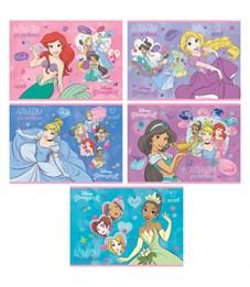 """Альбом для рисования 12л., А4, на скрепке Hatber """"Disney. Принцессы"""""""