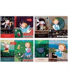 """Альбом для рисования 16л., А4, на скрепке BG """"Алиса в стране чудес- Gapchinska"""""""