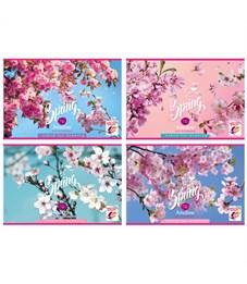 """Альбом для рисования 16л., А4, на скрепке BG """"Spring bloom"""""""