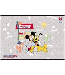 """Фото 5. Альбом для рисования 20л., А4, на скрепке Hatber """"Disney. Микки Маус"""""""