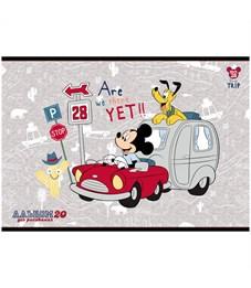 """Фото 6. Альбом для рисования 20л., А4, на скрепке Hatber """"Disney. Микки Маус"""""""
