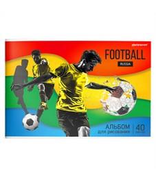 Альбом для рисования 40 л. А4 Футбол