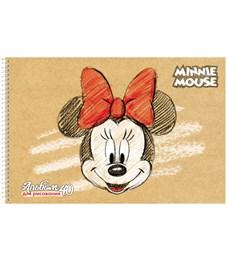 """Фото 2. Альбом для рисования 40л., А4, на спирали Hatber """"Disney. Микки Маус"""", с перфорацией на отрыв"""